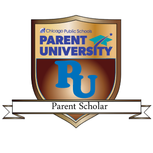 Parent Scholar Badge.